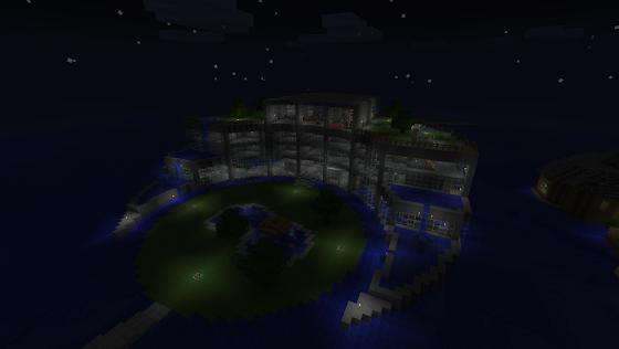 Minecraft hôtel
