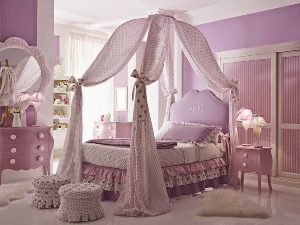 Construindo Minha Casa Clean Quartos de Princesas!!! Veja  ~ Quarto Rosa De Princesa