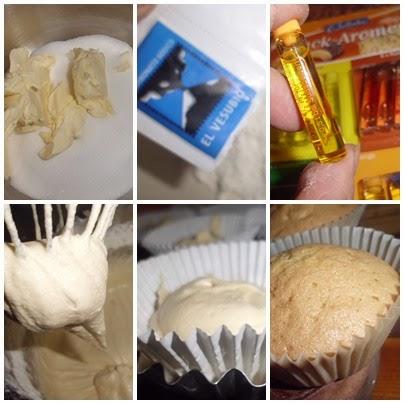 cupcakes paso a paso