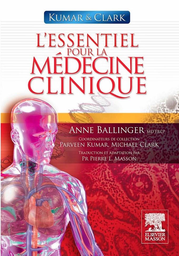 Télécharger Livre : L'essentiel pour la médecine clinique.pdf