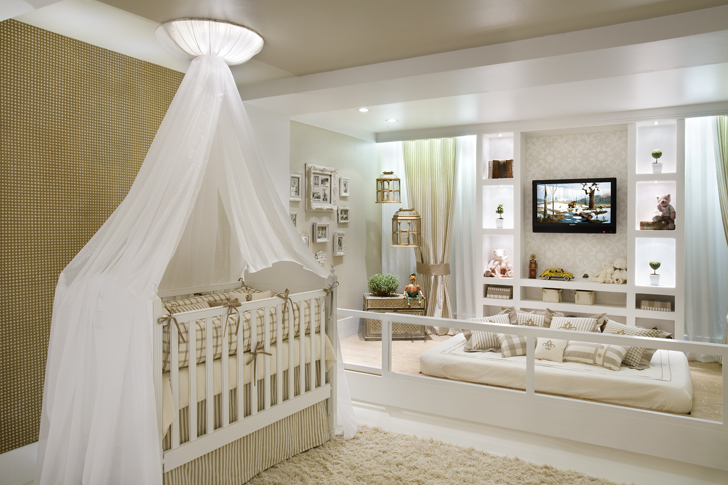 Lessandra Dottori  Arquitetura e Interiores Quarto neutro para bebês