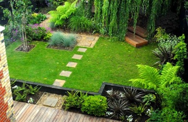 Home garden design ideas wallpapers pictures fashion for Garden design ideas short wide