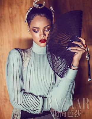 Rihanna – Harper's Bazaar Magazine China April 2015 Photo