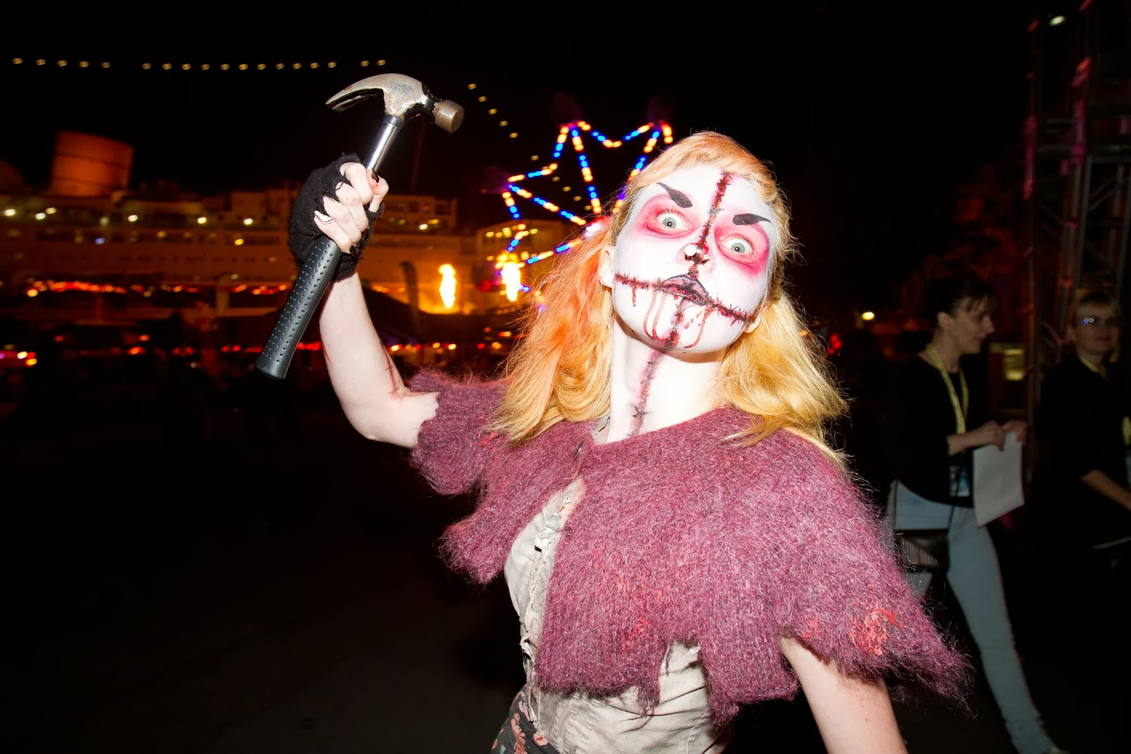 the queen mary's dark harbor hosts a halloween costume ball for