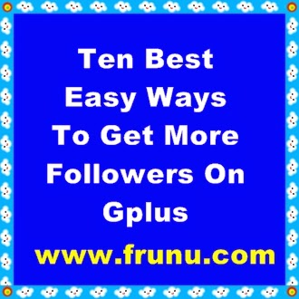 gplus free followers,gplus follower tricks