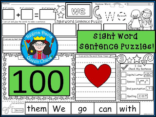 https://www.teacherspayteachers.com/Product/A-100-Sight-Word-Sentence-PuzzlesBuilding-Sentences-Handwriting-Addition-1941421