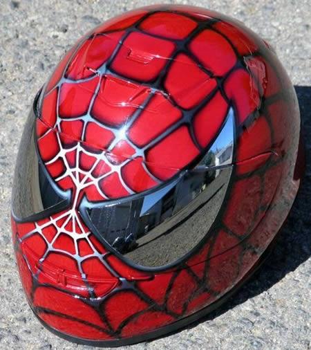 Moto custom gallery caschi incredibili per moto - Spider man moto ...