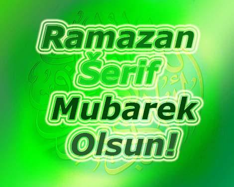 ramazanska čestitka ramazan šerif mubarek olsun