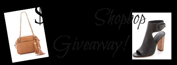 Untitled Shopbop Giveaway