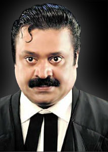Suresh Gopi as lawyer
