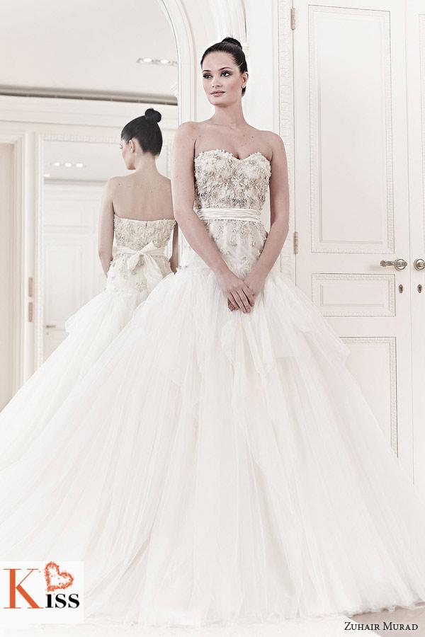 Zuhair Murad Wedding Dresses For Spring 2014