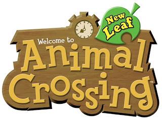 animal crossing new leaf logo Animal Crossing: New Leaf   Logo & Trailers