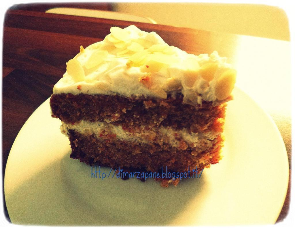 Di Marzapane Carrot Cake Certo Che Gradisco Picture Foto ...