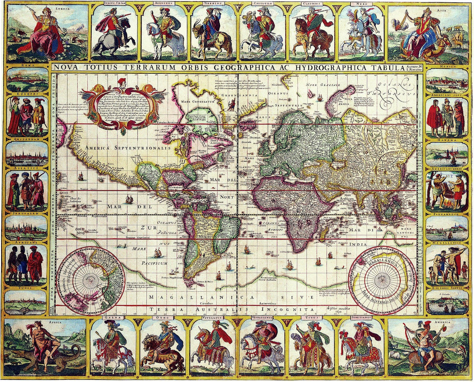 Picture2ALL Old Maps Of The World Part 24