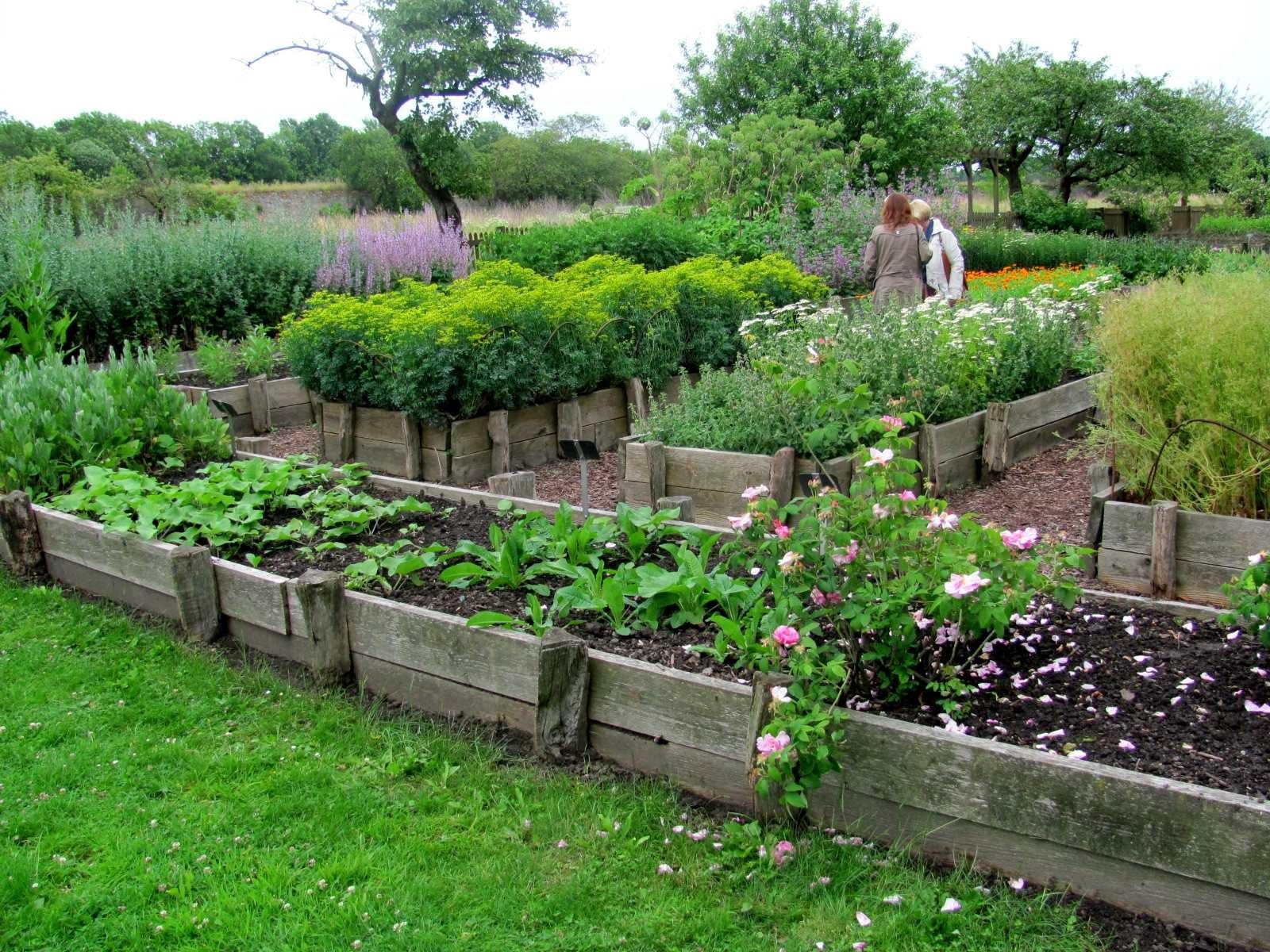 Garten Anders Hochbeete Im Klostergarten Riddagshausen
