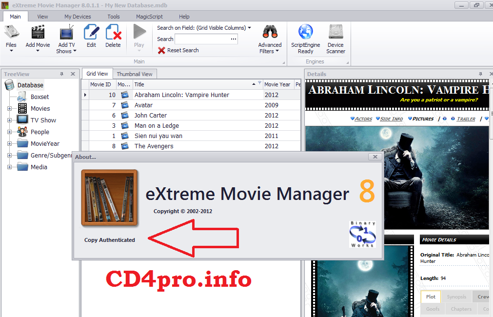 Extreme movie manager 6 1 8 0 deluxe edition crack working 100