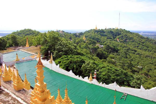 Colina Sagaing (Sagaing Hill) - Myanmar
