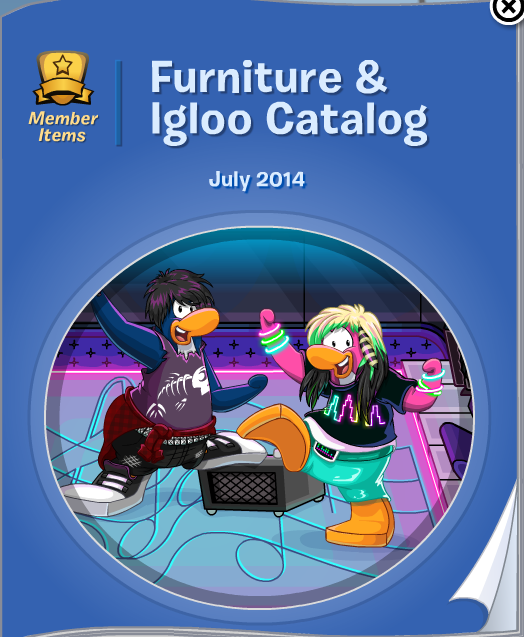 Club Penguin Furniture & Igloo Catalog Cheats July 2014