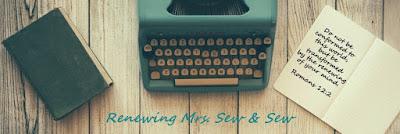 Renewing Mrs. Sew & Sew