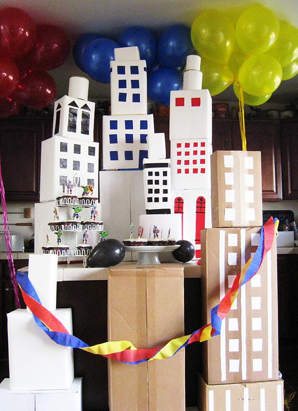 Classroom Decor Cape Town ~ Lavender avenue superhero birthday party