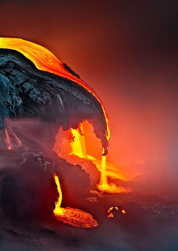 Kilauea volcano, Hawaii Hawaii Volcano Landscapes