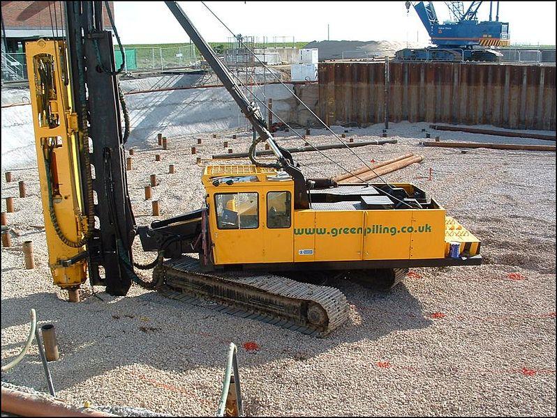 Build A Building Deep Foundation Pile Foundation