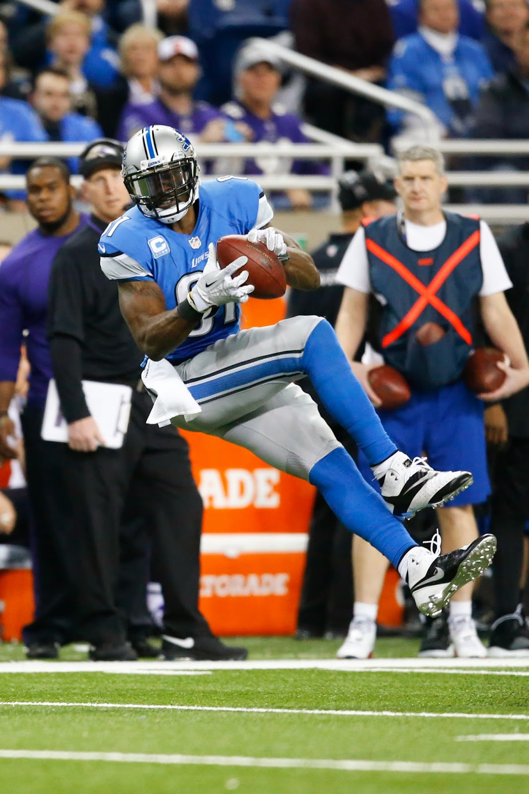 Detroit Lions — Three reasons Calvin Johnson will be better this season