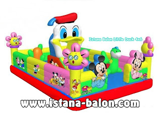 Istana Balon Little Duck 4x6