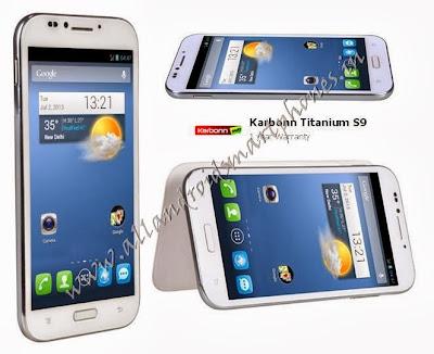 Karbonn Titanium S9 Dual Sim HD Android Smartphone White Images & Photos Review