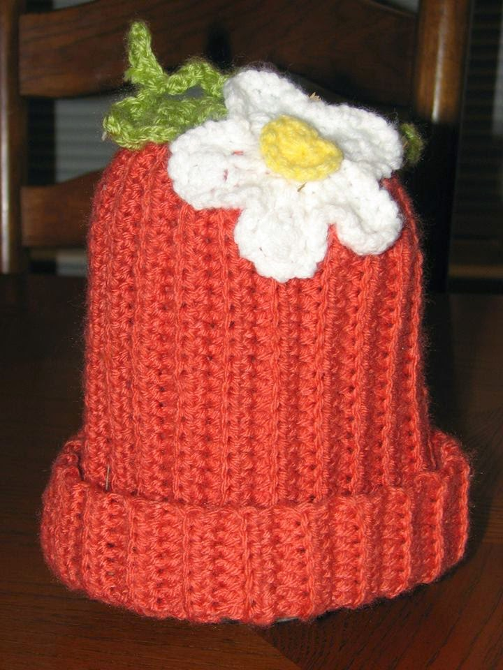 Crochet Little Pumpkin Hat