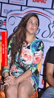 Namitha panty peek