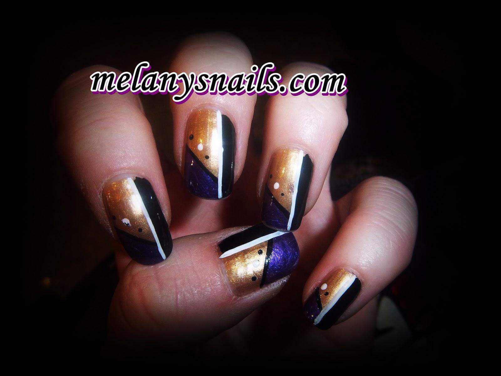 Melanys nails u as modelos variados para a o nuevo for Nuevos modelos de unas