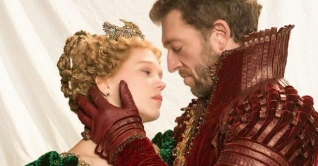"""Léa Seydoux y Vincent Cassel en """"La Bella y la Bestia"""""""