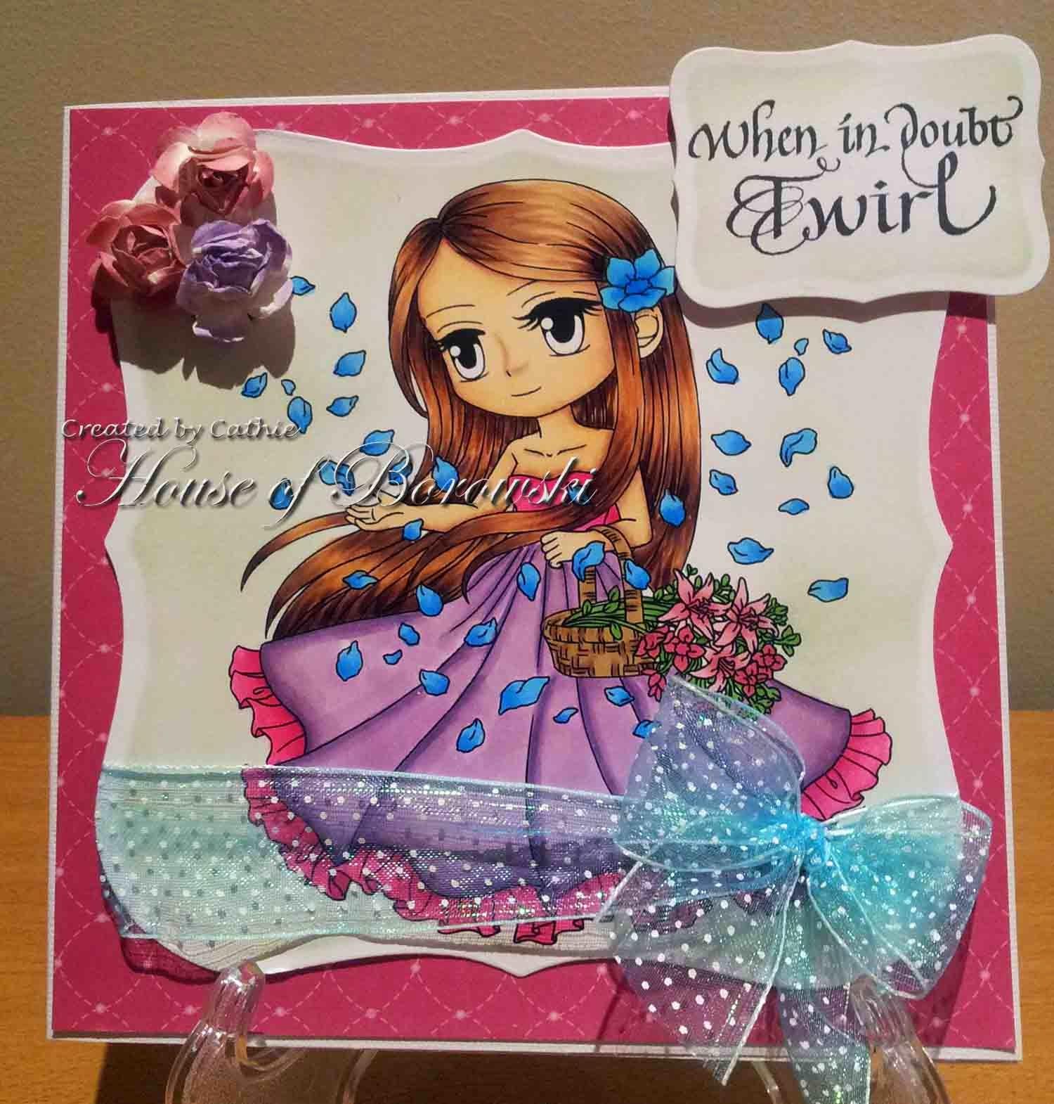 Diecut Divas, Quietfire Design, ArtbyMiran Petal Blossom