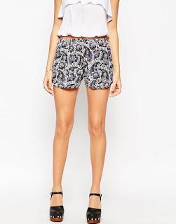 ASOS Paisley Print Shorts