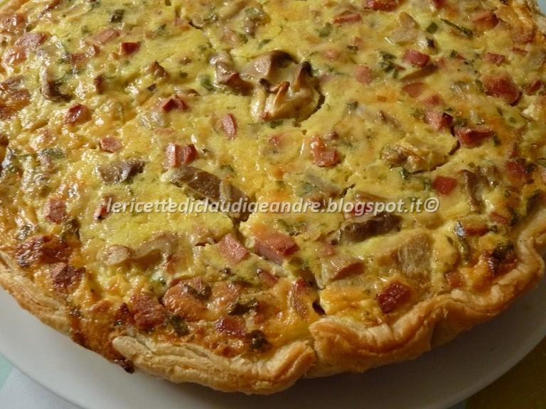 Ricetta torta salata wurstel e mozzarella