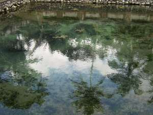 Tampak Siring Temple with a refreshing swimming baths