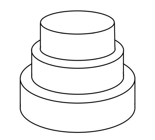 School of sugarcraft disegni di torte a piani e non for Design a 2 piani