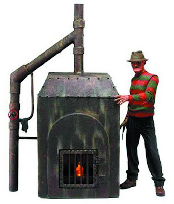 NECA A Nightmare on Elm Street Freddy's Furnace Playset
