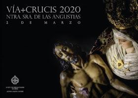 cartel viacrucis union de hermandades de jerez 2020