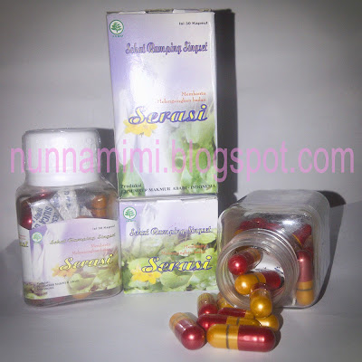 Serasi Pelangsing Badan Herbal Original