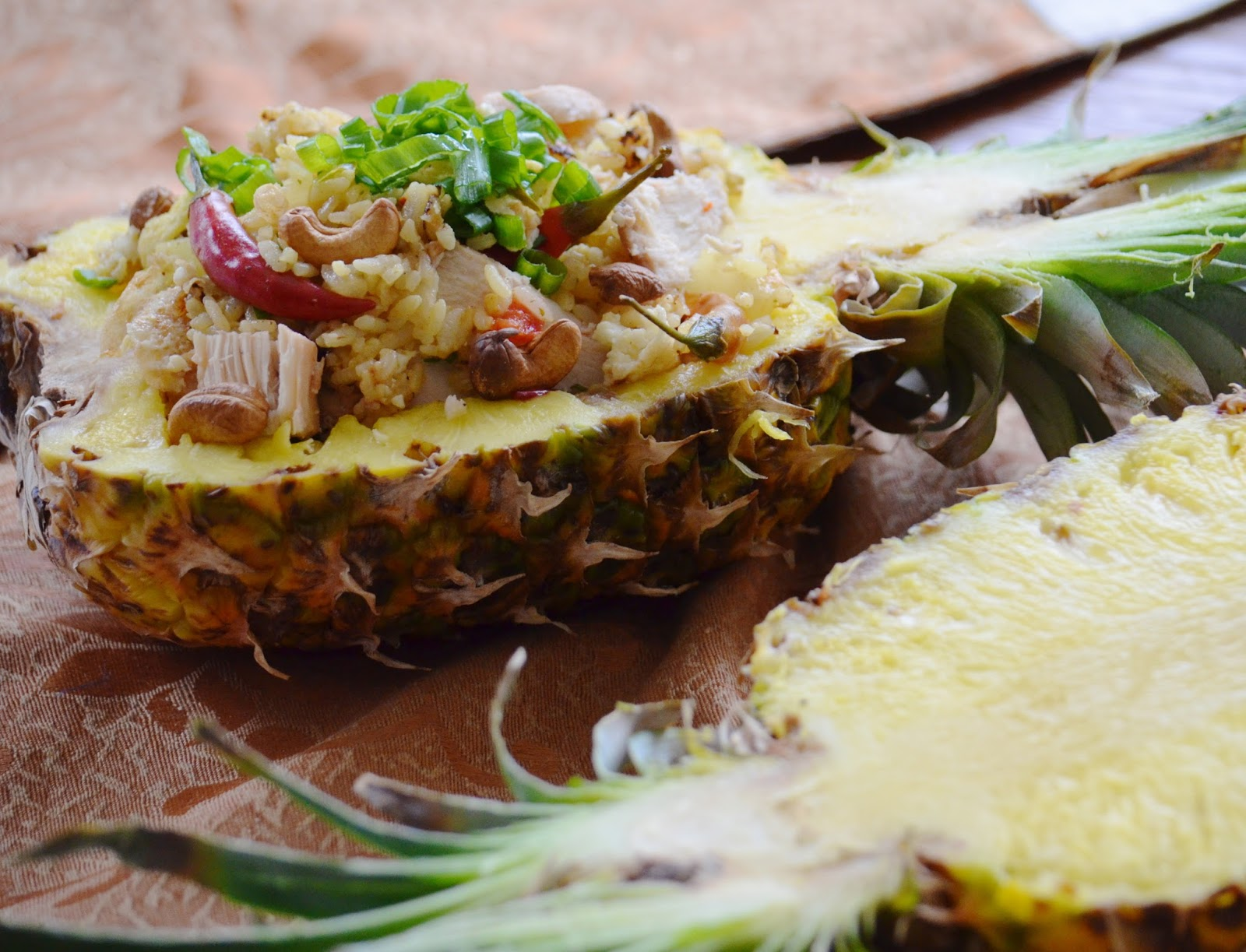 Thai Pineapple Fried Rice recipe Khao Pad Sapparot