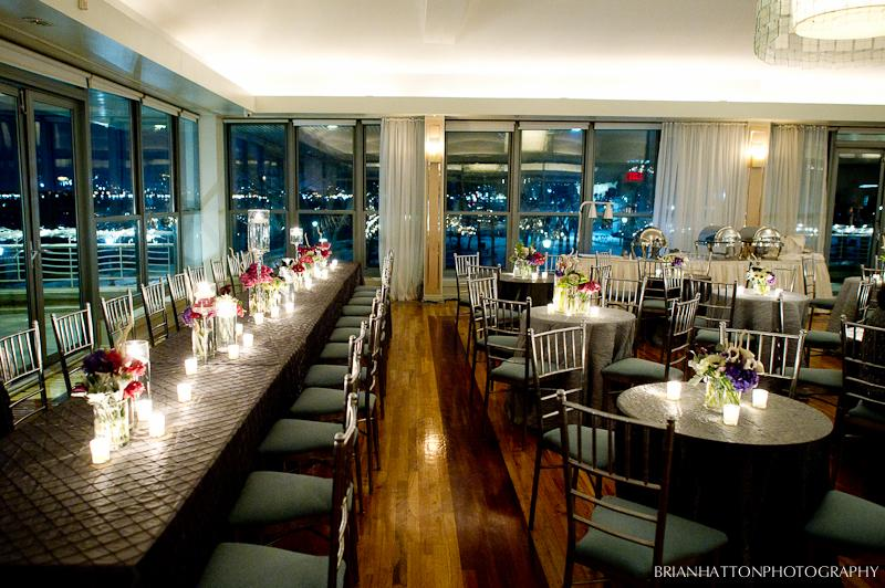 City blossoms fabulous winter wedding at battery gardens for Non traditional wedding venues nyc