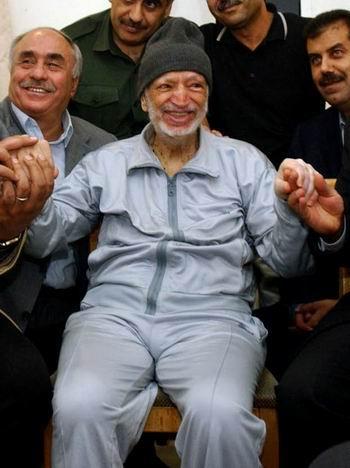 Y. Arafat umierajacy na AIDS; byl pedofilem