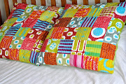 More patchwork cushions