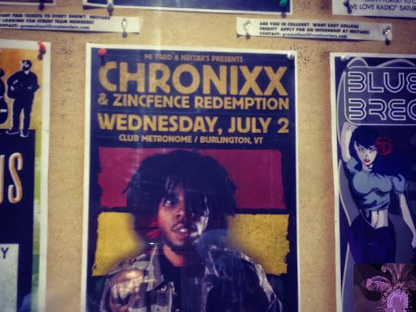 Jamaican Reggae Artist Chronixx On Jimmy Fallon Tonight!