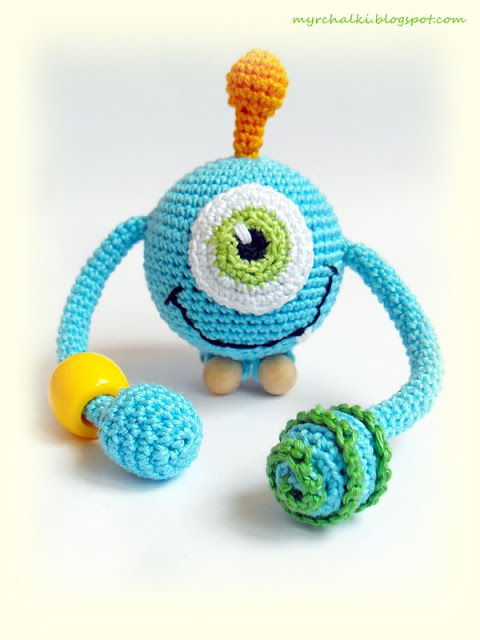 игрушка-погремушка своими руками