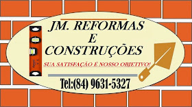 JM. REFORMAS E CONSTRUÇOES !