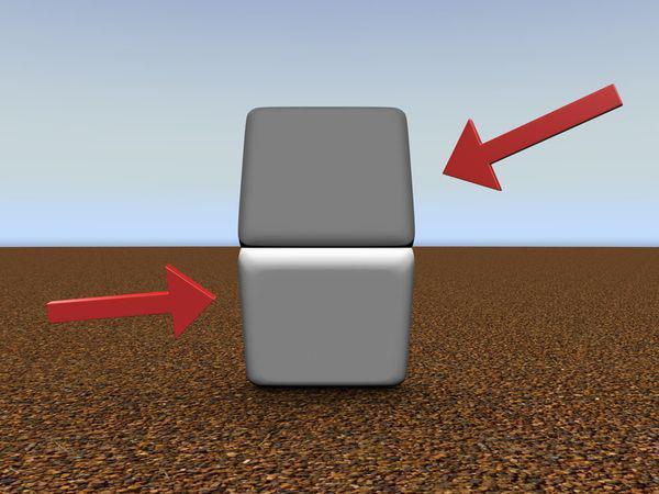 ilusi optik dua kotak tak sama warna jari