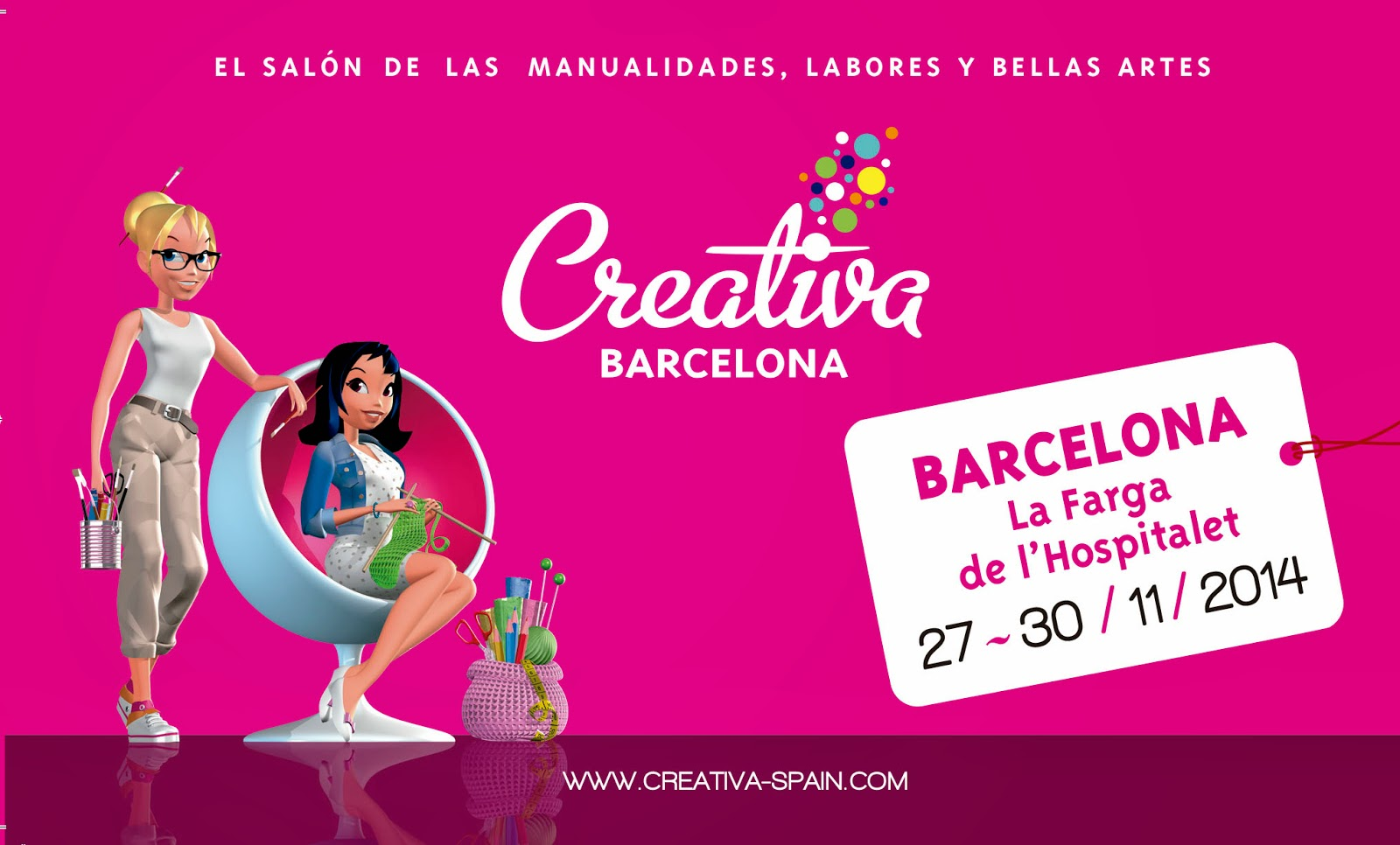 Mi mundo de scrap y manualidades feria creativa for Ferias barcelona hoy
